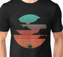 Driving Into The Sunset Unisex T-Shirt
