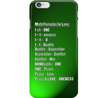 Math 4 Love iPhone Case/Skin