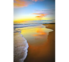 Beach Sunrise Photographic Print