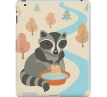 raccoon iPad Case/Skin