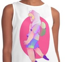 Finn the human colouring book Contrast Tank