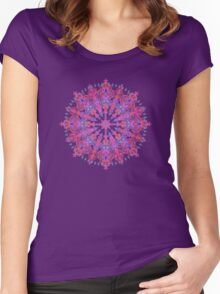 Bohemian Women's Fitted Scoop T-Shirt
