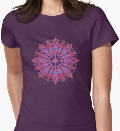 Bohemian Womens Fitted T-Shirt