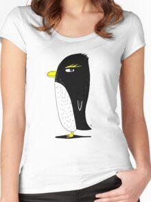 Rockhopper Penguin Women's Fitted Scoop T-Shirt