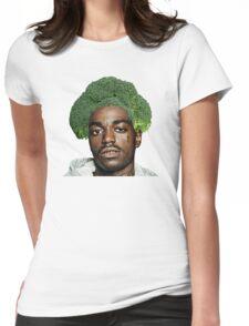 Kodak Black Broccoli Head- Transparent Background Womens Fitted T-Shirt