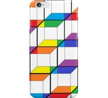 Rainbow Ribbon Cubes iPhone Case/Skin