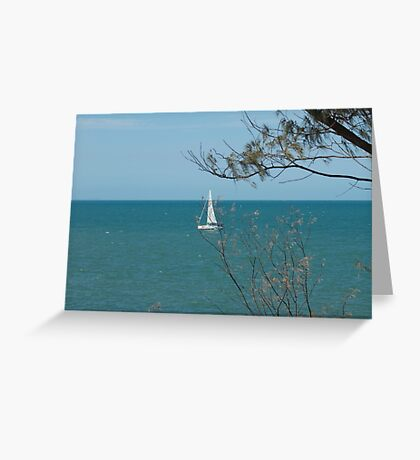 Tranquil waters  Greeting Card