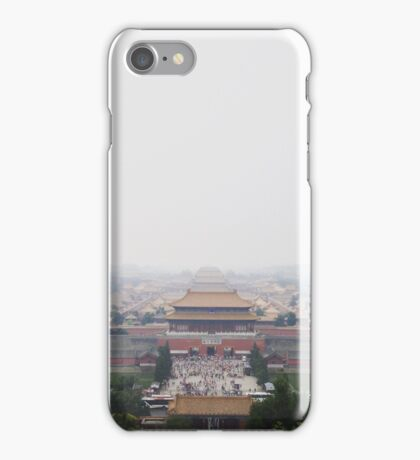 Tiananmen Square Forbidden City in Beijing, China iPhone Case/Skin