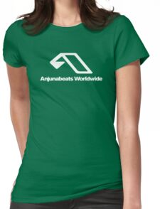 World Wide Beats Record of Anjuna Womens Fitted T-Shirt