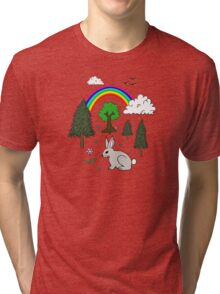 Nature Scene Tri-blend T-Shirt