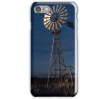The Twilight Windmill - Laidley Qld Australia iPhone Case/Skin