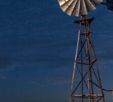 The Twilight Windmill - Laidley Qld Australia Sticker