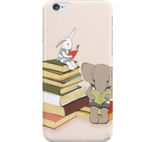 Reading is good!  iPhone Case/Skin