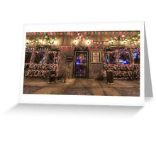 Happy Holidays from Bourbon Street Saloon Harrisburg Greeting Card