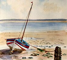 MIZPAH Beached Boat  by Woodie