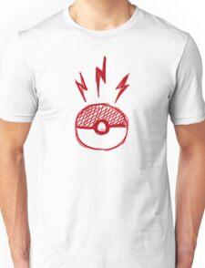 Pokeball Sketch - Pokemon Unisex T-Shirt