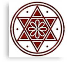 Hexagram, ✡ , Magic, Merkaba, David Star, Solomon Canvas Print