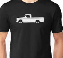 Lowered truck for 1965 Dodge D100 sweptline classic pickup enthusiasts Unisex T-Shirt