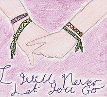 I will never let you go by RubyTheWise