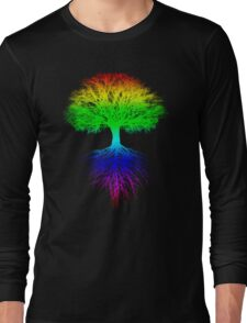 Sunshine, Lollypops and Rainbows Long Sleeve T-Shirt