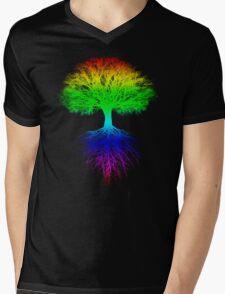 Sunshine, Lollypops and Rainbows Mens V-Neck T-Shirt