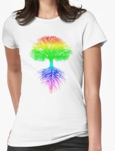 Sunshine, Lollypops and Rainbows Womens Fitted T-Shirt