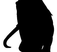 Wooly Mammoth Silhouette by kwg2200