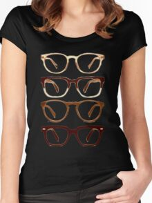Warby Parker Glasses – Sepia Women's Fitted Scoop T-Shirt