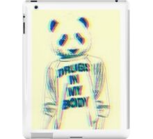 Drugs in my body iPad Case/Skin