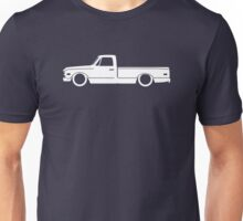Lowered truck for Chevrolet C-10 Action Line 1967-1972 C10 pickup enthusiasts Unisex T-Shirt