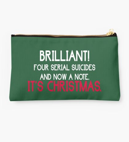 It's christmas - Sherlock Studio Pouch