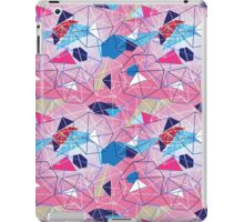 abstract pattern of geometric shapes iPad Case/Skin