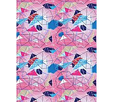abstract pattern of geometric shapes Photographic Print