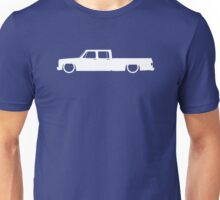 Lowered truck for Chevrolet C10 Crew cab long bed pickup 3rd Gen 1973-1987 enthusiasts Unisex T-Shirt