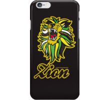 IRON LION ZION iPhone Case/Skin