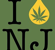 I Dab NJ (New Jersey) by LaCaDesigns