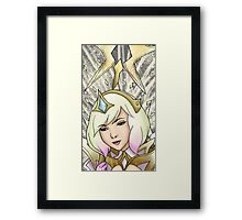 Elementalist Lux Light Art Framed Print