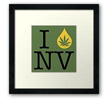 I Dab NV (Nevada) Framed Print