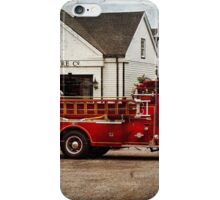 Fireman - Newark fire company iPhone Case/Skin