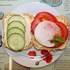 Open Salad Sandwich by AnnDixon