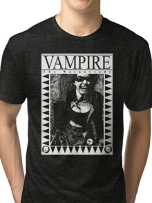 Retro Vampire: The Masquerade Tri-blend T-Shirt