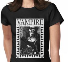 Retro Vampire: The Masquerade Womens Fitted T-Shirt