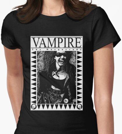 Retro Vampire: The Masquerade Womens Fitted T-Shirt