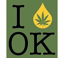 I Dab OK (Oklahoma) Photographic Print