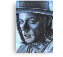 Jack White - Blue veins Canvas Print