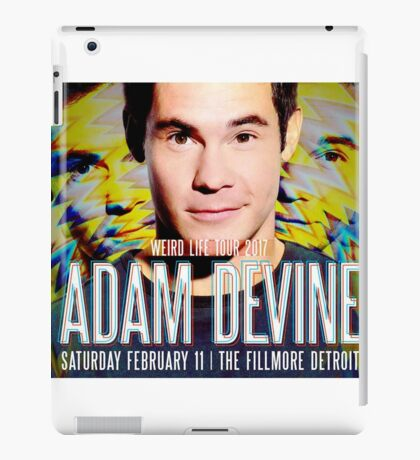 adam devine tour 2017 iPad Case/Skin