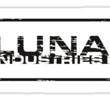 Lunar Industries Ltd. Sticker