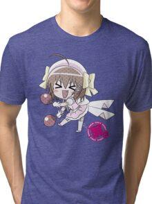 Haruna - Kore wa Zombie Desu ka? Tri-blend T-Shirt