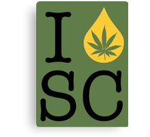 I Dab SC (South Carolina) Canvas Print