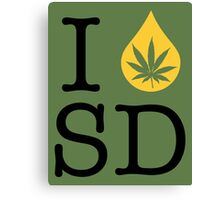 I Dab SD (South Dakota) Canvas Print